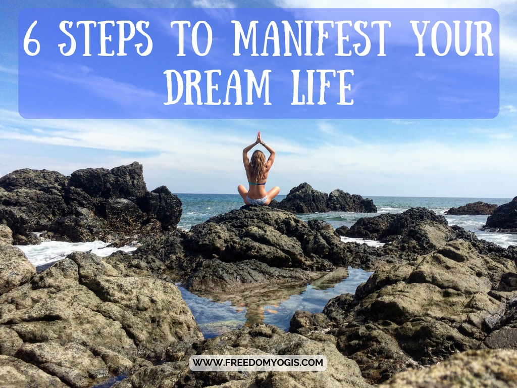 yoga beach manifest dreams